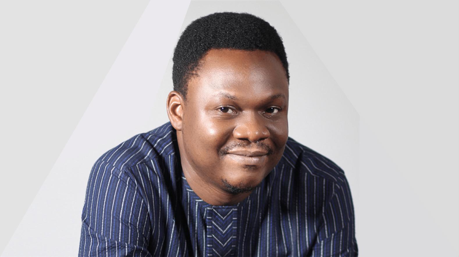 Joshua Adeoye in the Adjuvant Capital office.